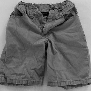 Grey size 5 Calvin Klein boys shorts